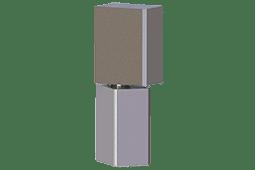 Aluminum Block Hinge